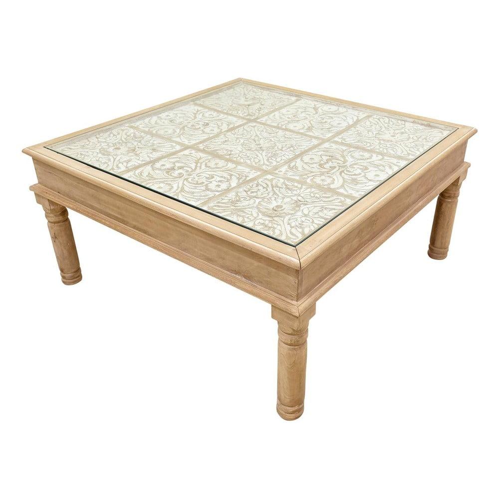 Konferenční stolek z masivního mangového dřeva Massive Home Sweet