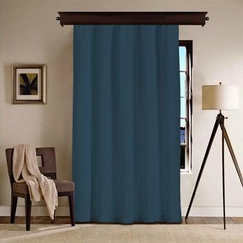 Draperie Curtain Kesso, 140 x 260 cm, albastru închis imagine