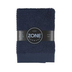 Tmavě modrý ručník Zone 70x50 cm