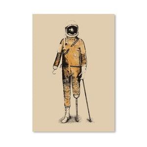 Plakát Astropirate od Florenta Bodart, 30x42 cm