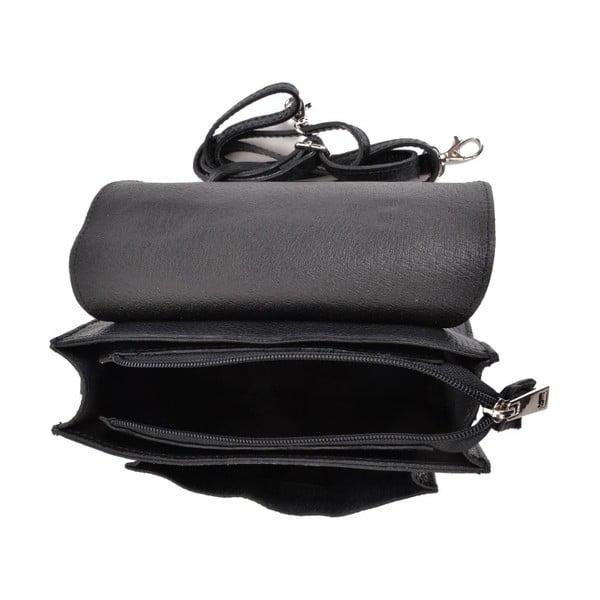Geantă din piele Mangotti Bags Cristina, negru
