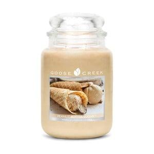 Vonná svíčka ve skleněné dóze Goose Creek Burákové sladké máslo, 0,68 kg