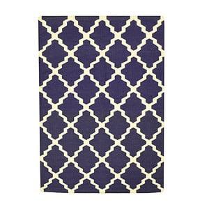 Ručně tkaný koberec Kilim Aar Blue, 160x230 cm