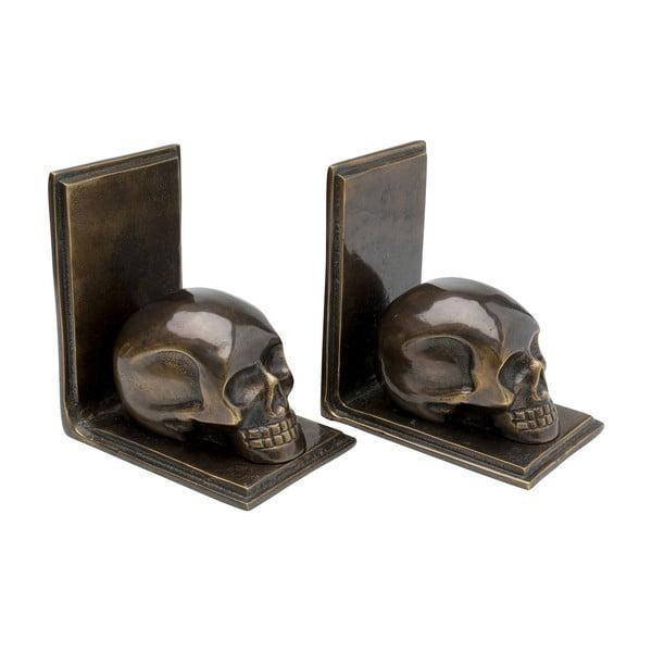Set 2 opritoare decorative pentru cărți Kare Design Skull