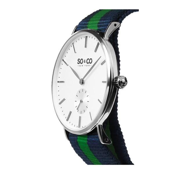 Pánské hodinky Madison Stripe Green/Blue