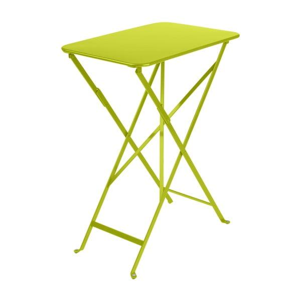 Světle zelený zahradní stolek Fermob Bistro, 37 x 57 cm
