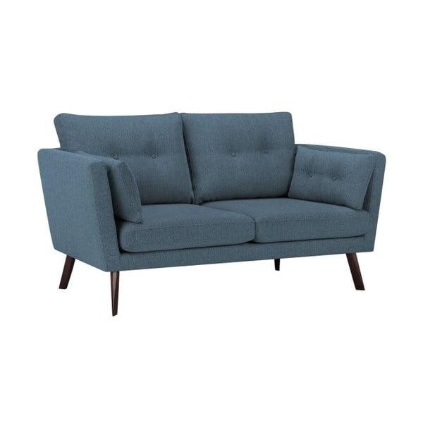 Canapea cu 3 locuri Mazzini Sofas Elena, albastru închis
