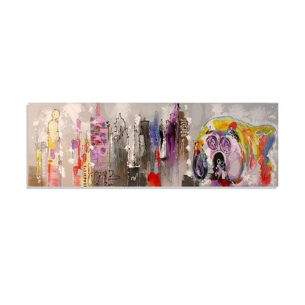 Obraz na plátně Landscape, 50x150 cm