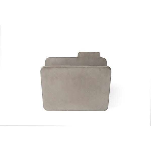 Suport din beton pentru reviste Lyon Béton Doc