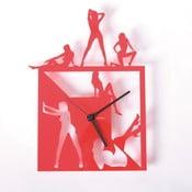 Plexisklové hodiny Hot