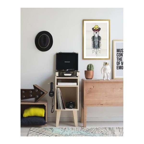 Zarámovaný plakát Really Nice Things Hipster Dog, 40x60cm