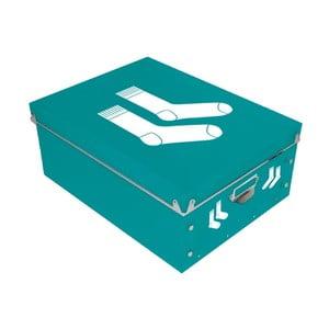 Úložný box na ponožky Incidence Picto, 34,5x26cm