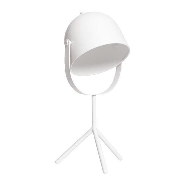 Bílá stolní lampa Flexa Monty