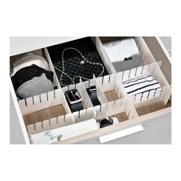 Organizator sertar cu 8 compartimente Domopak Living