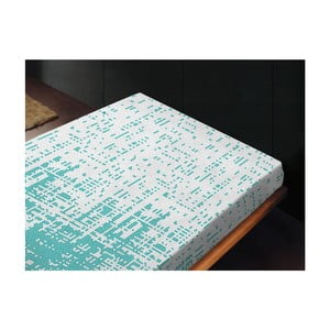 Neelastické prostěradlo Canevas Azul, 180x260 cm