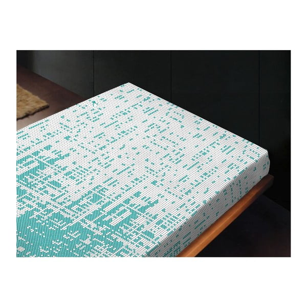 Neelastické prostěradlo Canevas Azul, 240x260 cm