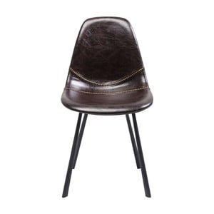 Hnědá židle Kare Design Lounge