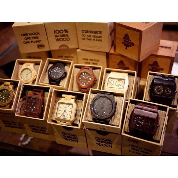 Dámské dřevěné hodinky Moon Beige