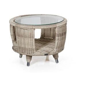 Béžový zahradní stolek Brafab Evita, ∅6cm
