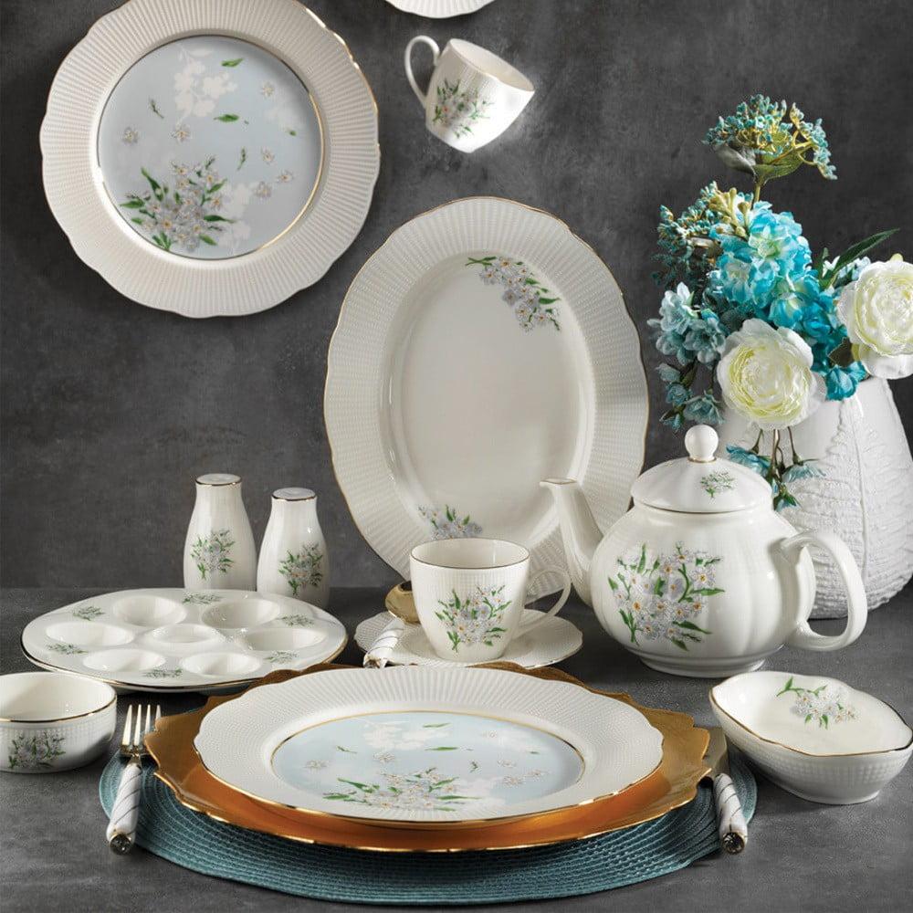 28dílná sada nádobí z porcelánu Kutahya Alex