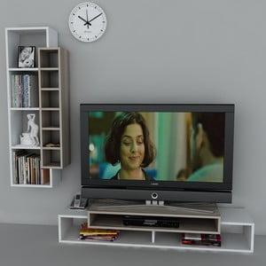 Televizní stolek First TV Stand White/Cordoba