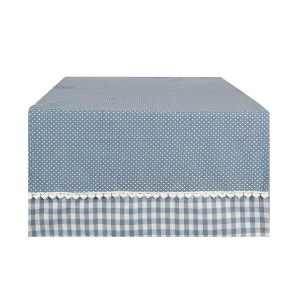 Běhoun Basic Hearts 50x140 cm, modrý