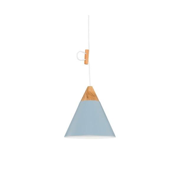 Světle modré závěsné svítidlo Tomas S
