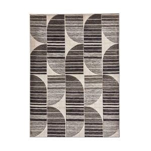 Šedý vzorovaný koberec Think Rugs Pembroke, 80x150cm