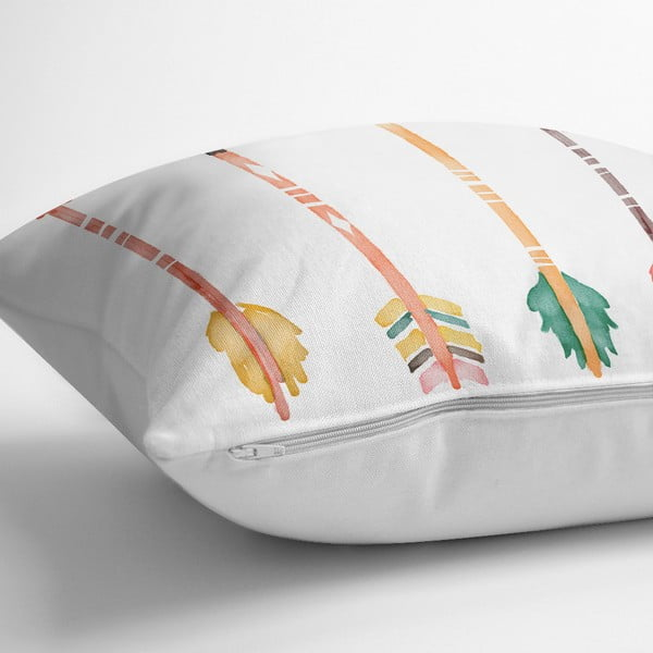 Povlak na polštář s příměsí bavlny Minimalist Cushion Covers Oklar,45x45cm