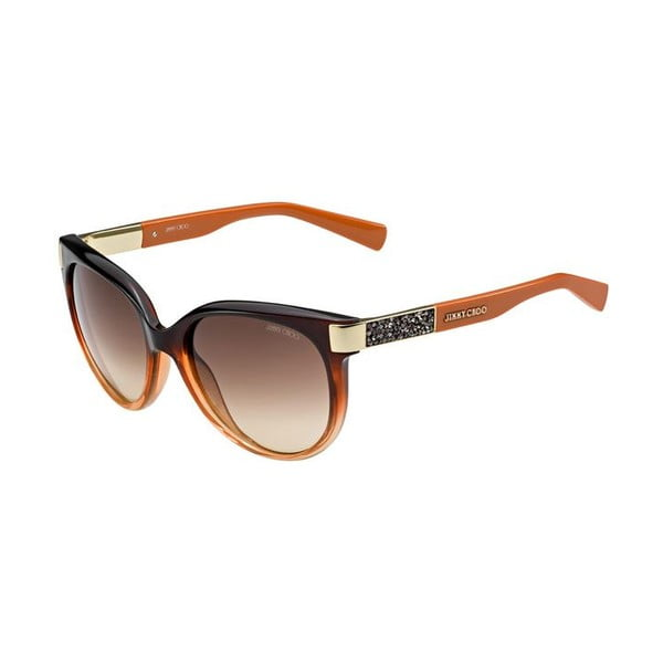 Sluneční brýle Jimmy Choo Erin Orange/Brown