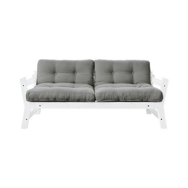 Canapea extensibilă Karup Design Step White/Grey