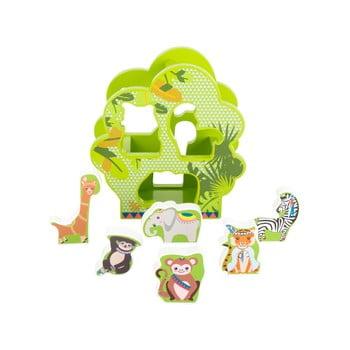Jucărie educativă din lemn pentru copii Legler Jungle de la Legler