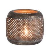 Kovový dekorativní svícen J-Line, ⌀11cm
