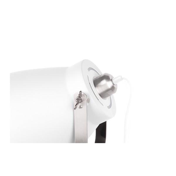 Bílá volně stojící lampa Tristar
