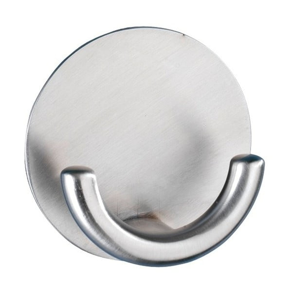Rondo ezüstszínű öntapadós fali akasztó - Wenko