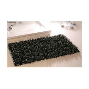 Koupelnová předložka Metallic Look Black, 50x70 cm