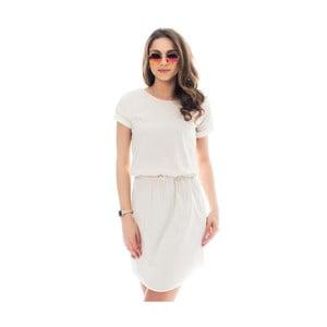 Krémové bavlněné šaty Lull Loungewear Palmera, vel.S