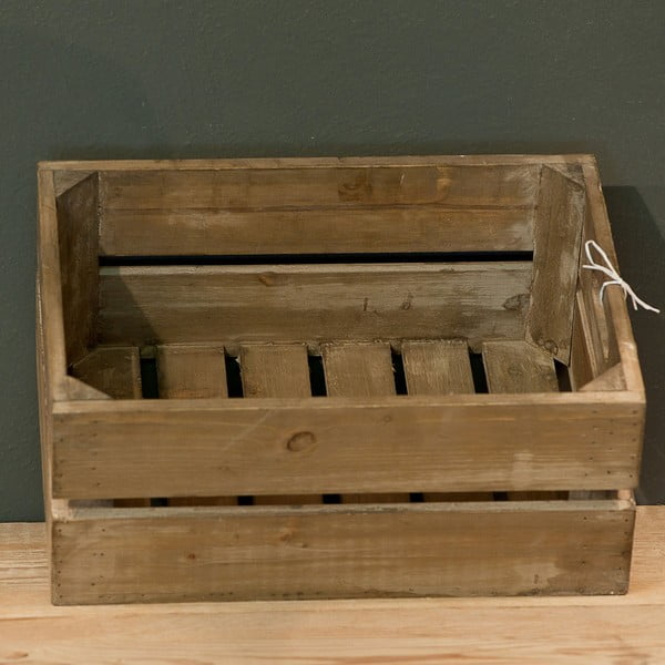 Dřevěná přepravka Cassetta