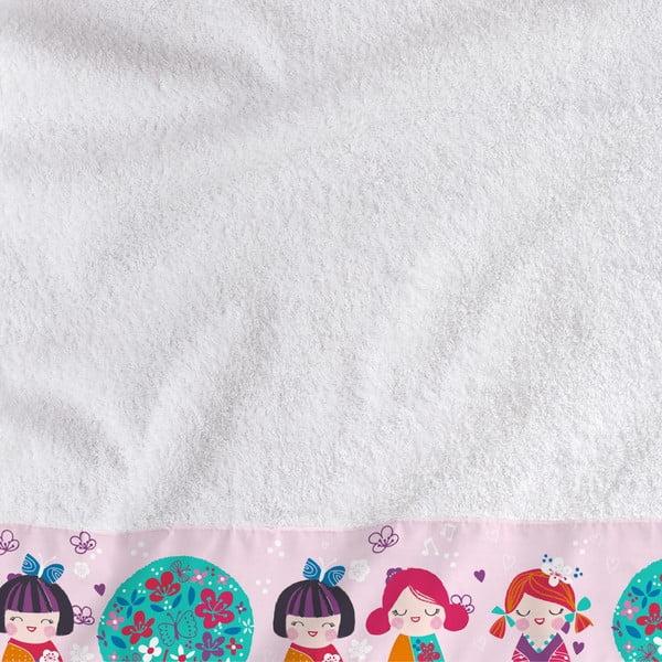 Sada 2 dětských osušek Moshi Moshi Cherry Blossom
