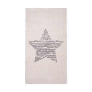 Dětský krémový koberec Nattiot Lucero, 80x150cm