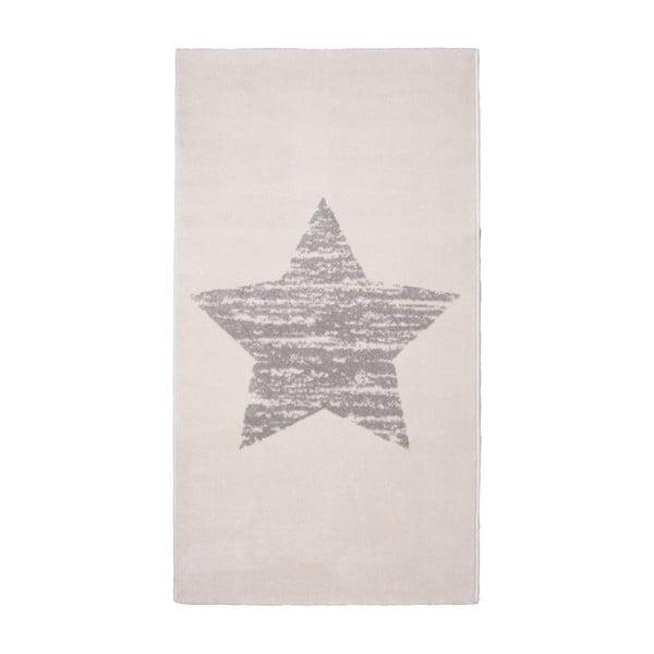 Detský krémový koberec Nattiot Lucero, 80×150cm