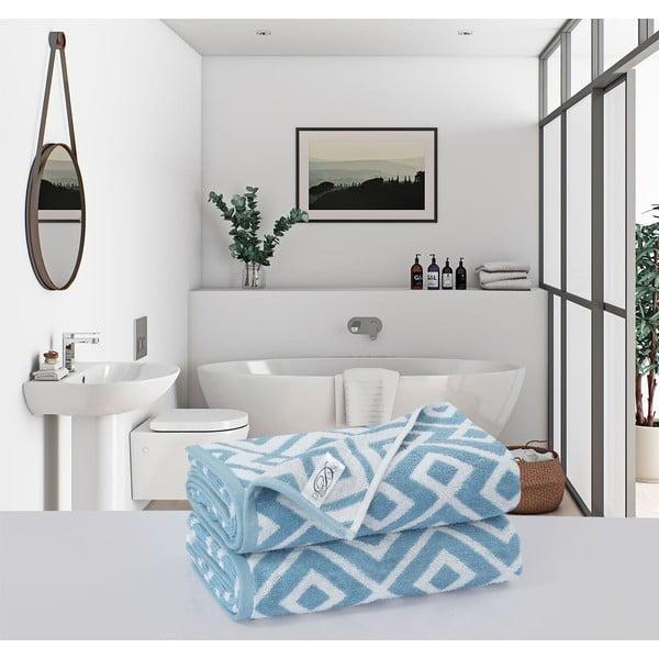 Sada 2 bavlnených osušiek Muller Textiels Rassano Demi, 70 × 140 cm
