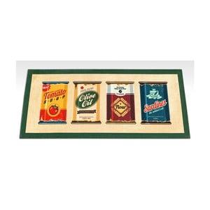 Běhoun Floorita Digital Olive Oil & Co, 60 x 240 cm
