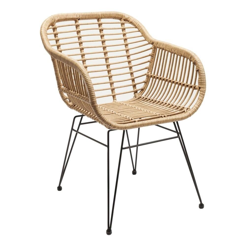 Židle s područkami Kare Design Farfalia Nature