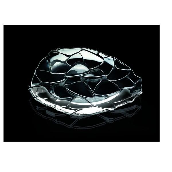 Tavă pentru servit din cristal Nachtmann Petals Charger Plate, ⌀ 32 cm