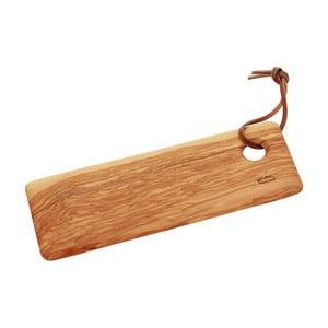 Krájecí prkénko ze dřeva olivovníku Jean Dubost, 30 x 10 cm