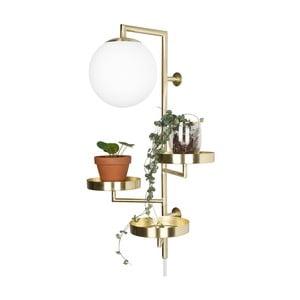 Nástěnné svítidlo v barvě mosazi GlobenLighting Astoria