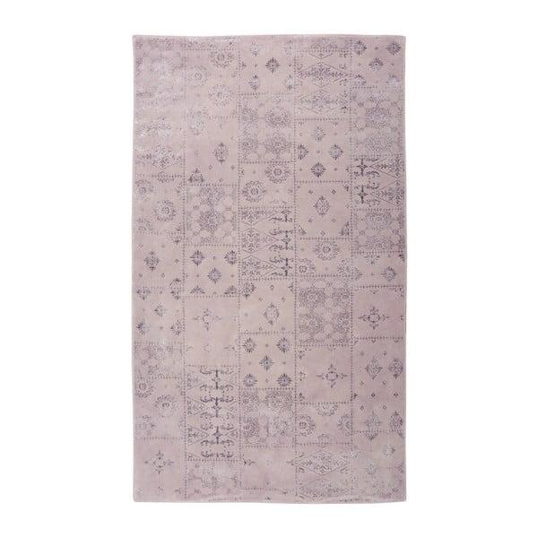 Fialový koberec Floorist Mosaic, 80x300cm