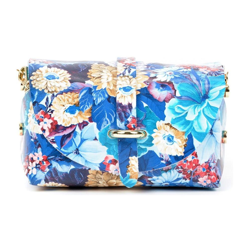 Kožená kabelka Sofia Cardoni Artsy Blue