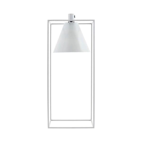 Stolní lampa Kubix, bílá